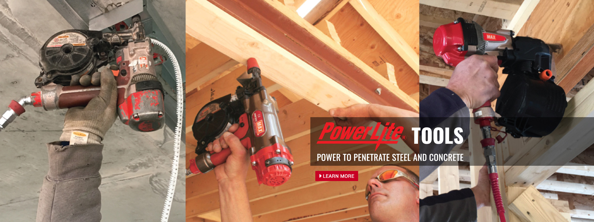 PowerLite Tools Power to Penetrate Steel and Concrete