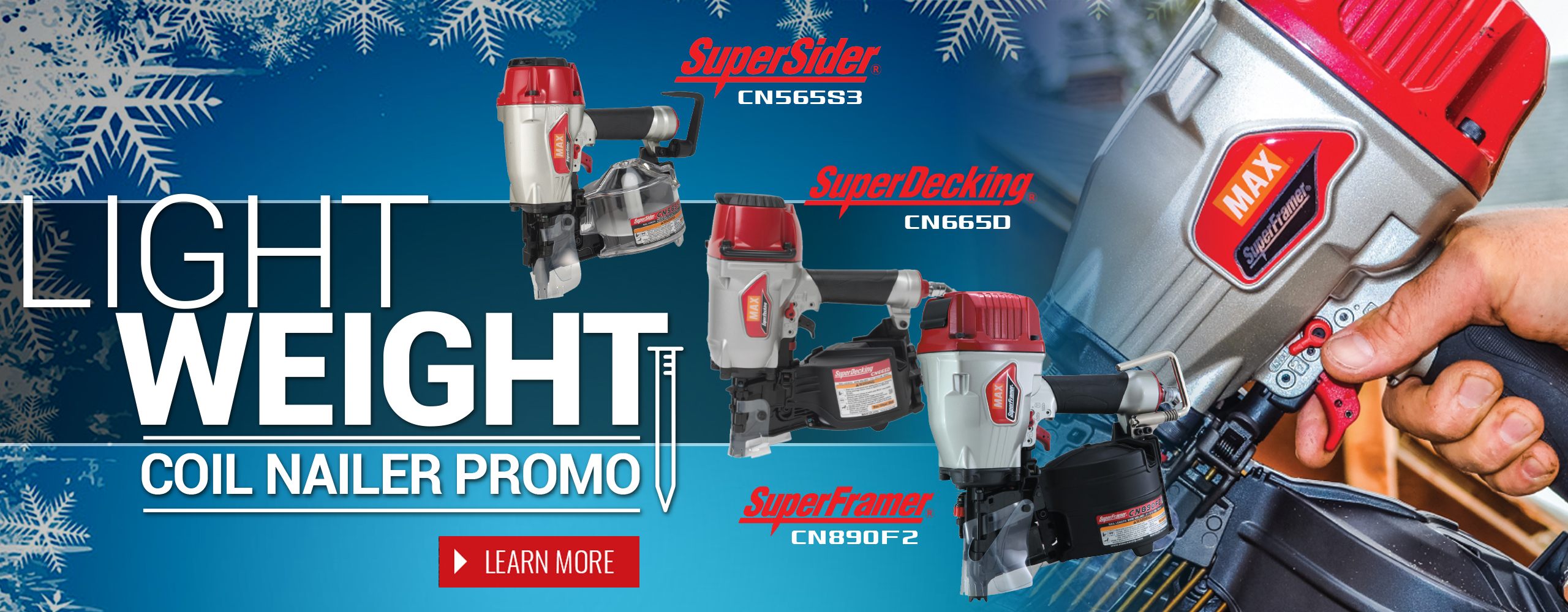 Lightweight Coil Nailers