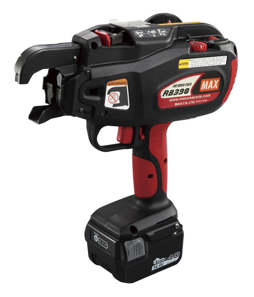 RB398 - MAX USA CORP. - The world\'s professional tool manufacturer