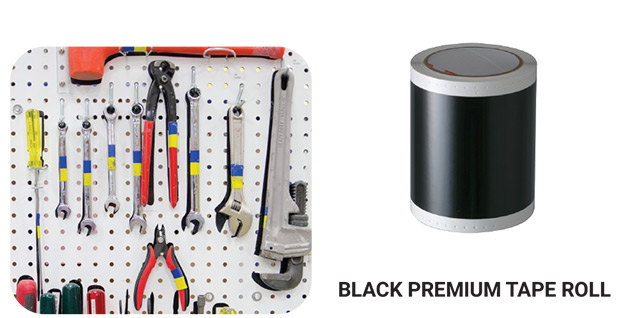 Black Premium Tape Roll