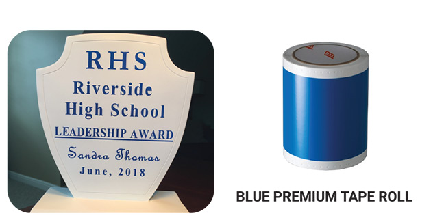 Blue Premium Tape Roll