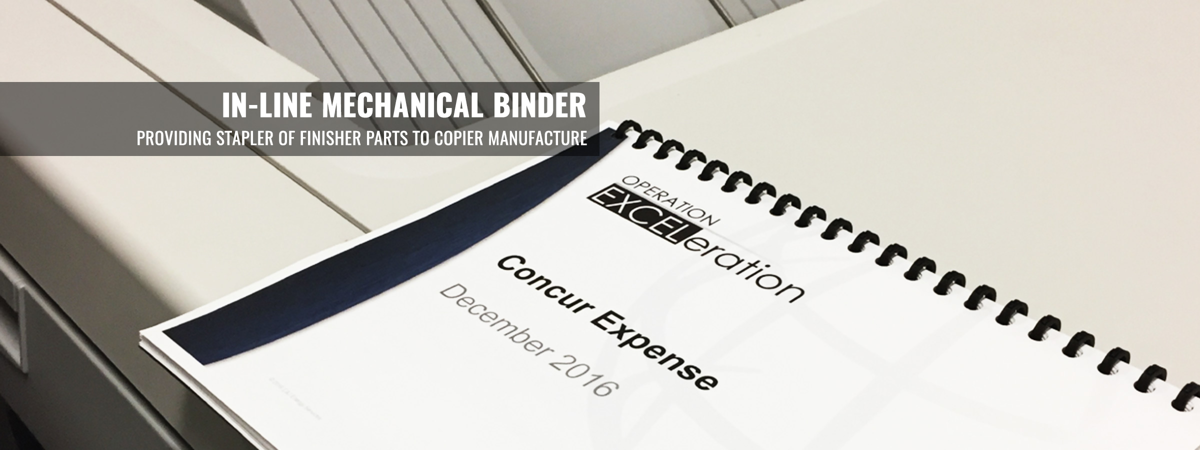 In-Line Mechanical Binder